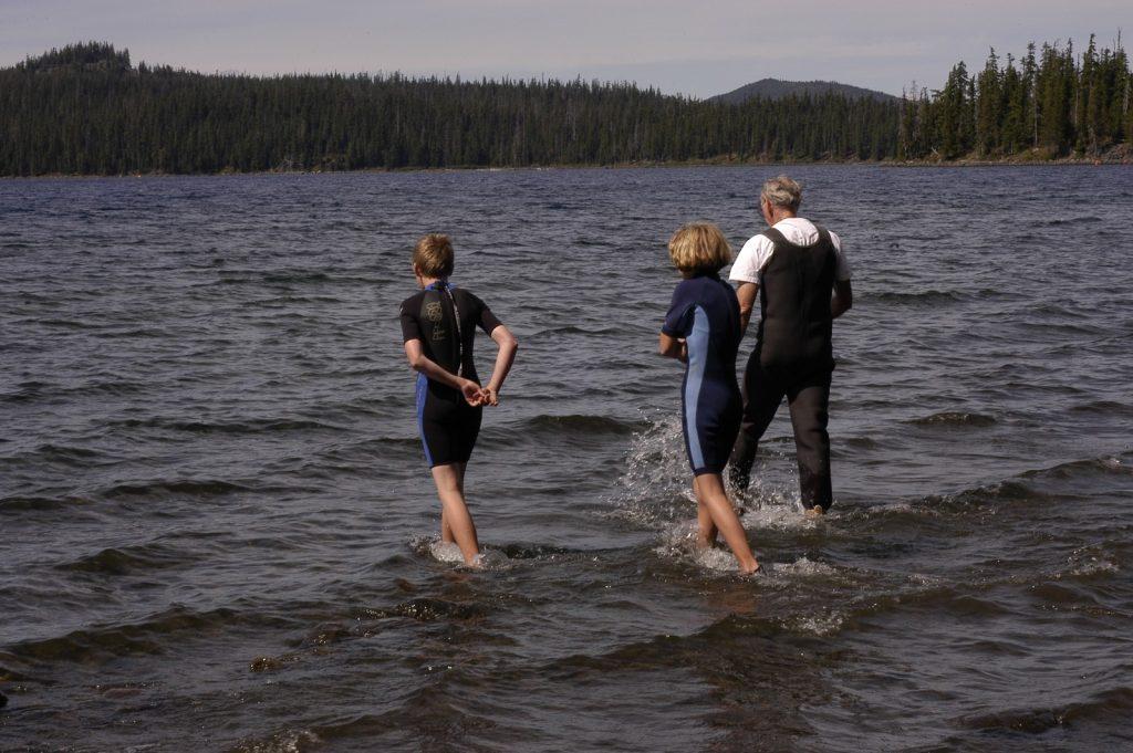 Ben & Hannah Gordon Baptised by Pastor Paul MacLearn