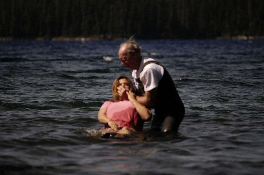 Baptizing Carol Miller